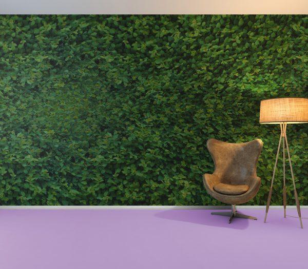 Green Wall mockup