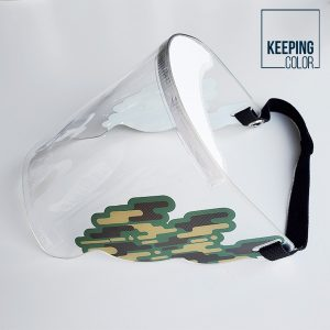 Camouflage Face Shield