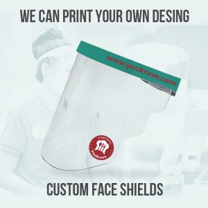 Custom Face Shields
