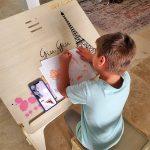 Interlocking Children Desk